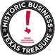 Texas Historical Commission's Texas Treasure Historic Business Recipient